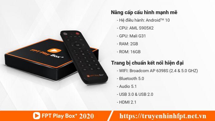 Cấu hình FPT Play Box 2020 bản S550