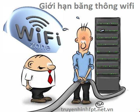 Giới hạn băng thông wifi