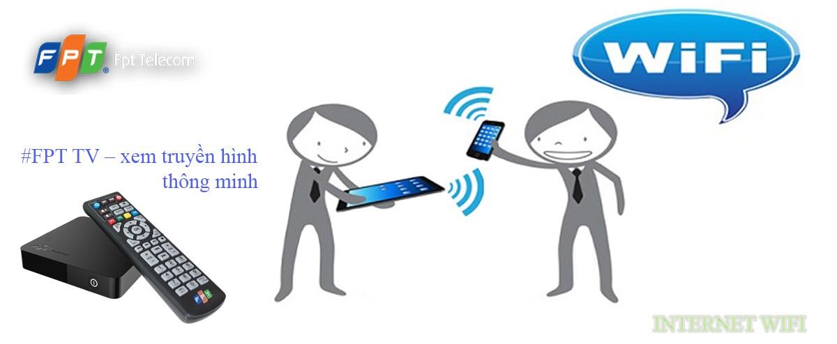 Lắp wifi Fpt khuyến mãi tặng đầu thu truyền hình