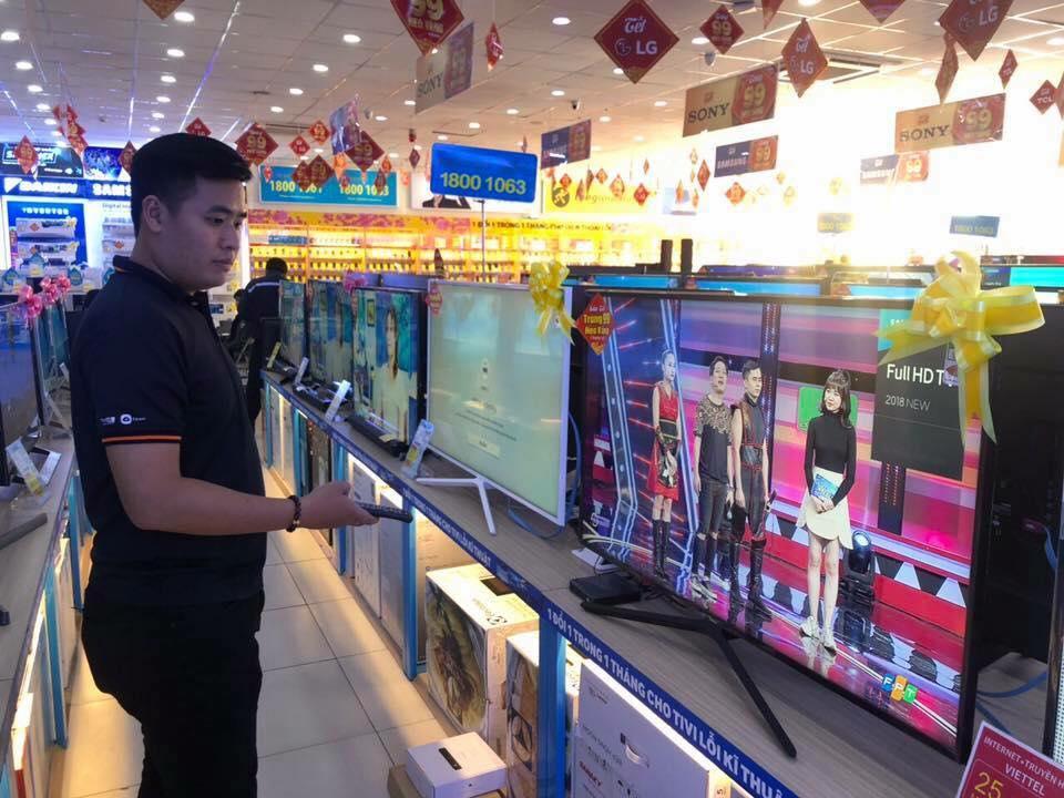 Tải nghiệp truyền hình FPT ở Điện Máy Xanh