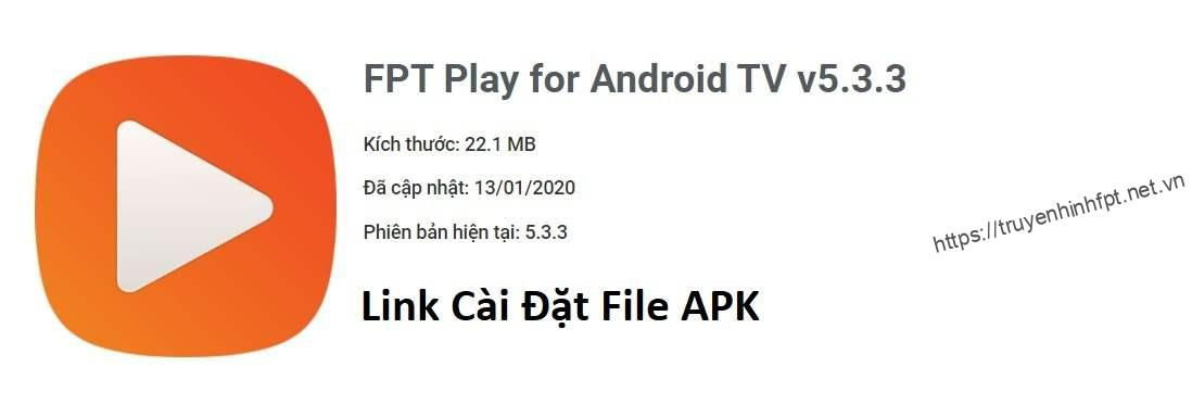 FPT Play file APK cho Smart TV Android