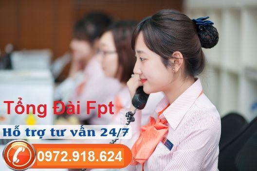 Tổng đài đăng ký dịch vụ Fpt