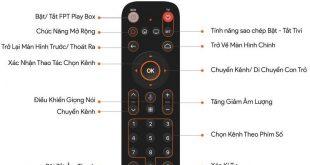 Hướng dẫn sử dụng điều khiển Fpt Play Box 2019