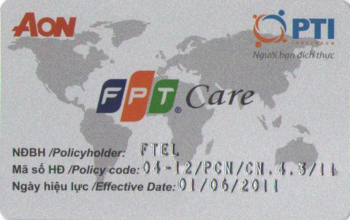 Thẻ bảo hiểm FPT Care