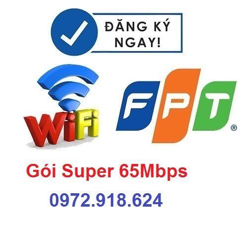 Gói Cước Super 65Mbps Fpt