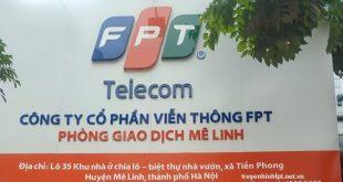 Lắp Mạng FPT Mê Linh