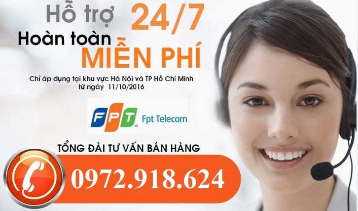 Số điện thoại tổng đài Fpt HCM