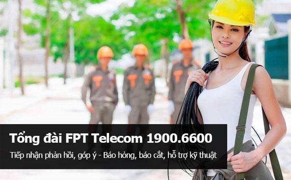 Tổng đài hỗ trợ kỹ thuật FPT HCM