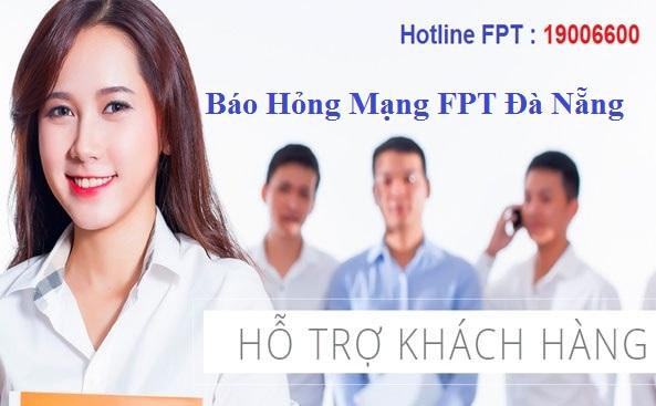 Báo hỏng mạng FPT Đà Nẵng