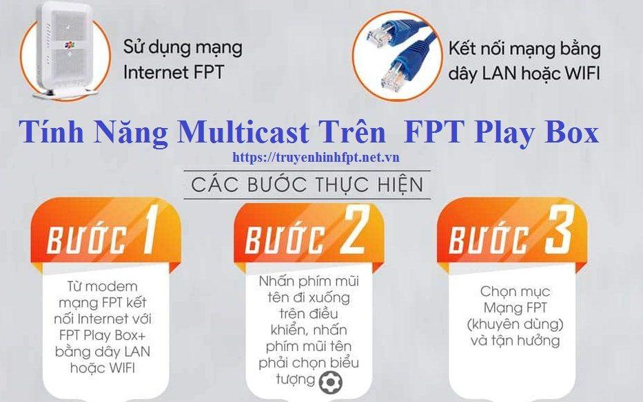 Tính năng Multicast trên FPT Play Box