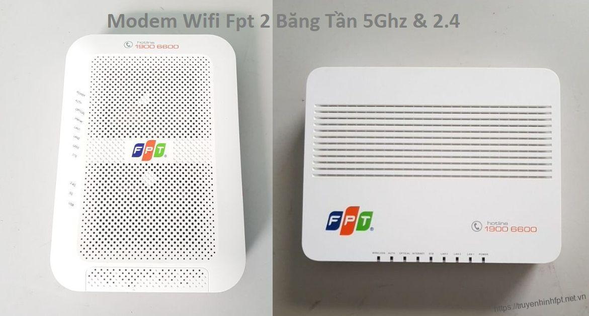 Modem wifi 2 băng tần FPT