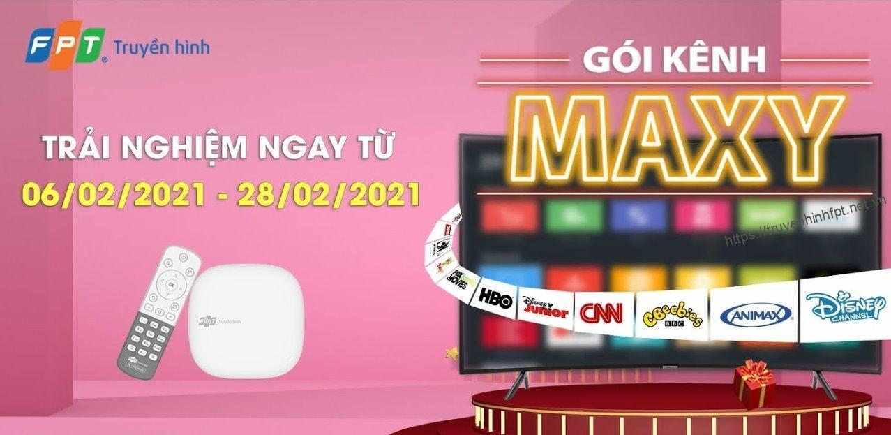 Gói Maxy truyền hình FPT